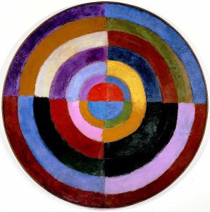 Robert_Delaunay,_1913,_Premier_Disque,_134_cm,_52.7_inches,_Private_collection
